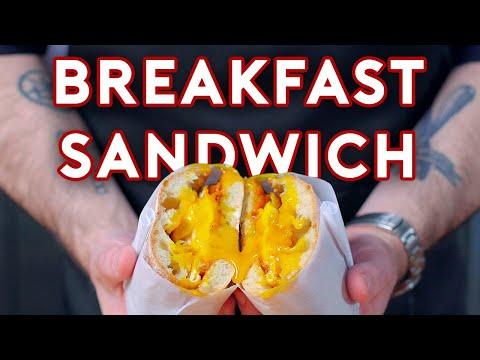 Binging with Babish Egg Sandwich from Birds of Prey