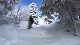 Sous-bois du Mont Oford avec Sony action cam