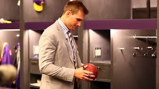 Inside Look: Kirk Cousins Becomes A Viking
