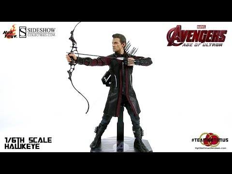 Video Review of the Hot Toys 1 6 Hawkeye from The Avengers Age of Ultron