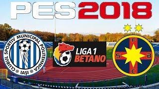 PES 2018 - 2017-18 Liga 1 - POLI IASI vs STEAUA