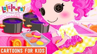Lalaloopsy - Delicious Button Cookies | Lalaloopsy Webisode Compilation | Cartoons for Kids