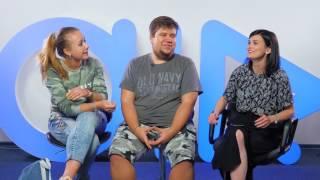 Горячее интервью с Олегом Брейном и Дашей Рейн