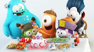 Funny Animated Cartoon | Spookiz Kebis Happy Birthday Song | Cartoon for Children