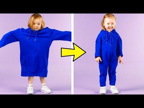 24 CLOTHES HACKS FOR SMART MOMS