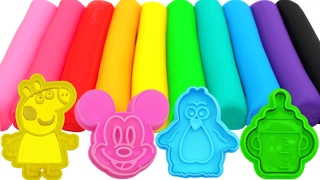 Learn Colors with Play Doh Animals Baby Bottle Fun and Creative for Kids RL