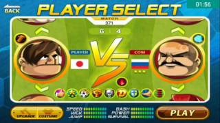 Head Soccer Challenge - Beat 10 Characters with the worst Character without Jump,Dash