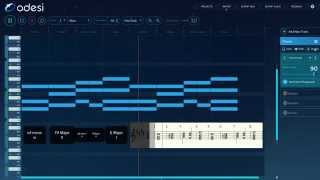 Odesi tutorial - Kygo - Stole The Show (Chords, Melody and Bassline)