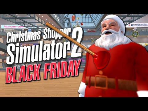 ICE CREAM SANDWICH MAN SAVES CHRISTMAS - Christmas Shopper Simulator 2 Black Friday