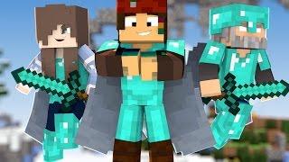 Minecraft - SkyFall: ESTOU PROZÃO NO NOVO MINIGAME #1