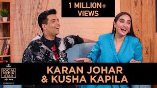 'Social Media Star With Janice' E03: Karan Johar And Kusha Kapila
