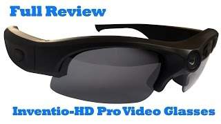 Inventio-HD Pro 1080P Video Sunglasses Full Review, Spy Glasses from SpyTec