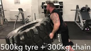 Eddie Hall - Best Training lifts