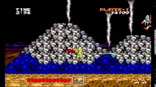Stoveplay: Daimakaimura (Ghouls 'n Ghosts) (PC Engine) Part 2: Burning Village