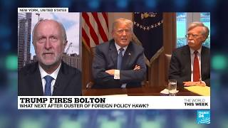 Trump not a warmonger 'but he believes in the power of the dollar' - Christopher Dickey on Bolton