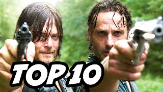 Walking Dead Season 6 Episode 9 - TOP 10 WTF and Easter Eggs
