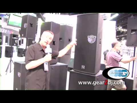 Electro Voice QRX Series Speakers NAMM 2010 www.gear2dj.com Dynamic Sound & Lighting