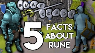 5 Facts You Didn't know about Rune Armour From Runescape! (5 Facts)