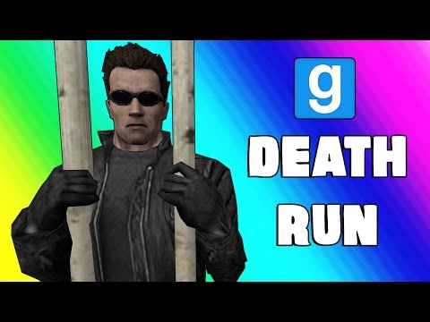 Gmod Deathrun Funny Moments Escaping Prison Garry s Mod Sandbox