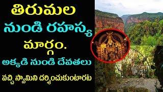 Tirumala Tirupathi Inside Story | Unknown Facts in Telugu