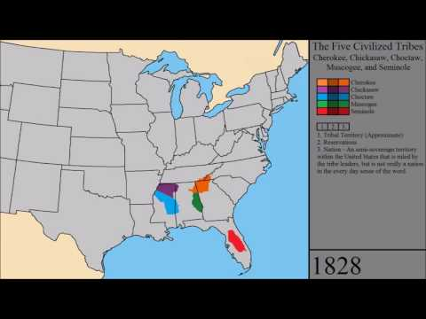 The History of the Five Civilized Tribes: Every Year