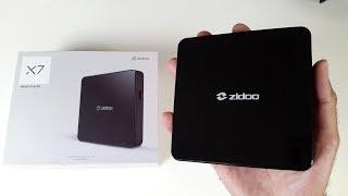2017 Zidoo X7 - Android 7.1 Nougat TV Box 4K UHD