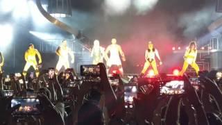 Britney Spears - Live in Tel Aviv - Missy Elliott Break