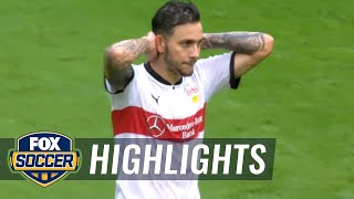 VfB Stuttgart vs. VfL Wolfsburg | 2017-18 Bundesliga Highlights