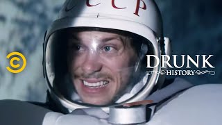 The Terrifying First Space Walk (feat. Adam Devine & Blake Anderson) - Drunk History