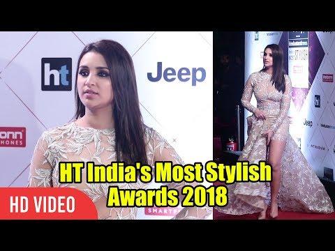 Xxx Mp4 Parineeti Chopra At HT India S Most Stylish Awards 2018 Viralbollywood 3gp Sex