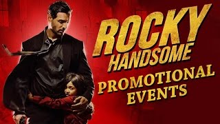 Rocky Handsome Movie (2016) | John Abraham, Shruti Haasan | Promotional Events