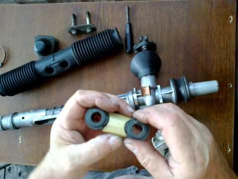 Ремонт рулевой рейки своими руками видео на бмв
