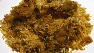 Chicken Biryani at home in simple and easy steps