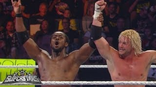 Dolph Ziggler & Kofi Kingston vs. The Prime Time Players: WWE Superstars, Aug. 16, 2013