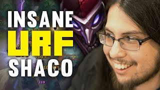 Imaqtpie - INSANE SHACO PLAYS ON URF! (YOU HAVE TO SEE IT TO BELIEVE IT)