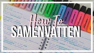 How To: Samenvatting Maken | Bo