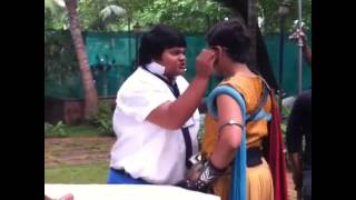 Dev Joshi and Montu are fighting on set Baalveer