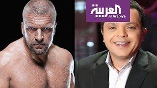 صباح العربية: مزحة هنيدي توصله لحلبة مصارعة