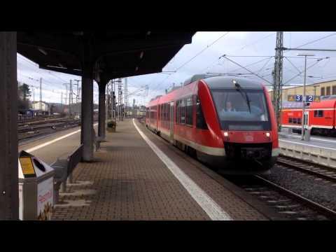 Lahntalbahn zwischen Limburg und Diez (mit LINT und Talent der Lahn-Eifel-Bahn)