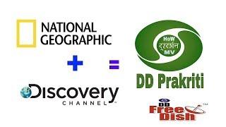 DD free dish || New channel || DD Prakriti