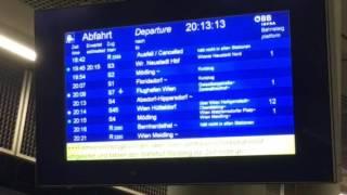Wiener Linien Roulette nach Unfall