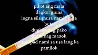 Smoke - NoPetsAllowed Lyrics on Screen