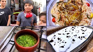 One Fine Friday || Rehan coming back after a week | Simple Lunch Menu & Chef