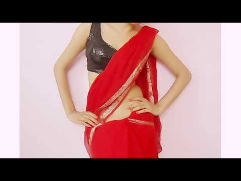 Jawani Deewani Saree Wearing Style-Sari Wraping Video Tutorial/How To Drape Saari