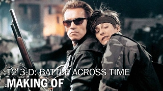 T2 3-D: Battle Across Time (1996) - Making of