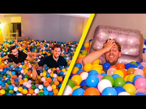 Une nuit dans une piscine à boules