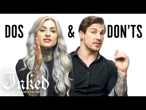 Tattoo Dos and Don ts With Ryan Ashley and Arlo INKED