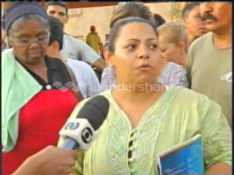 Cerca de 500 Famílias invadem prédio inacabado em palmas. BD-TO. 09/09/2014.