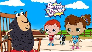 Bottle Squad | Baa Baa Black Sheep | Nursery Rhymes | Superhero Babies | Kids Rhyme | Baby Videos