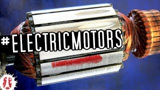 How Brush DC Motors & Universal Motors Work: Components Of An Armature With Commutator